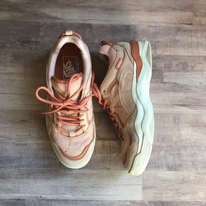 VANS Pink and Cream Chunky Sneakers - SAMPLE